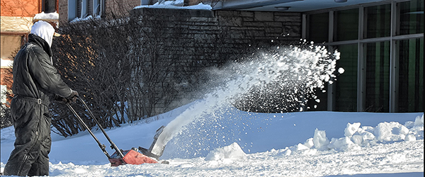Snowblower Banner